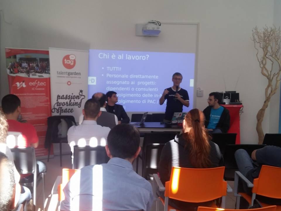 Conferenza hack developers