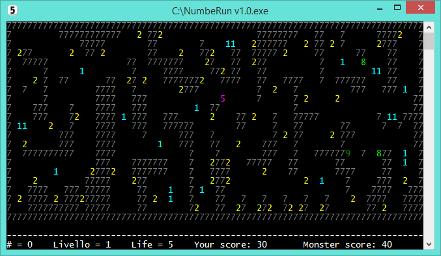 NumbeRun v1 - game 1