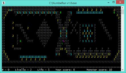 NumbeRun v1 - game 2