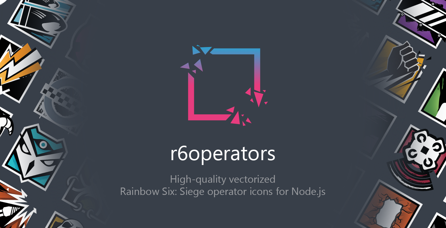 GitHub - marcopixel/r6-operatoricons: r6-operatoricons is a