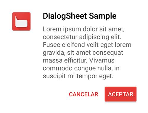 DialogSheet