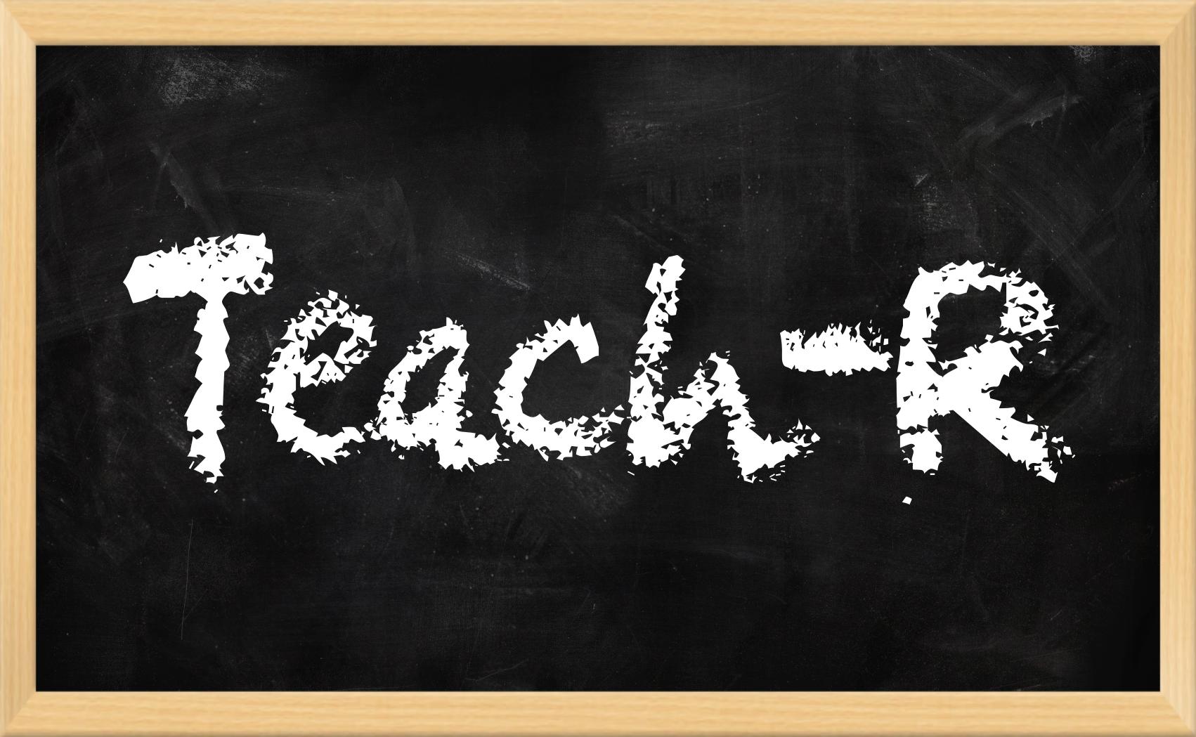 Teach-R Logo