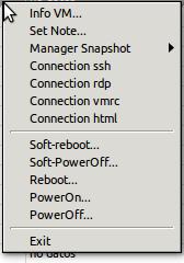 Exampe window Menu (not the update version)