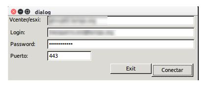 Image user an password window