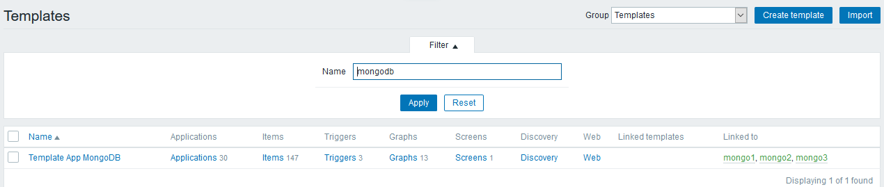 How to monitor mongodb replica set using zabbix-Marionxue