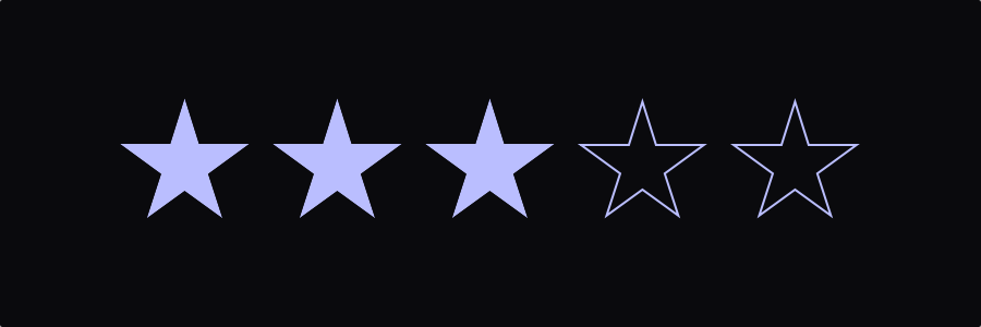 Cosmos, star rating control for iOS / Swift