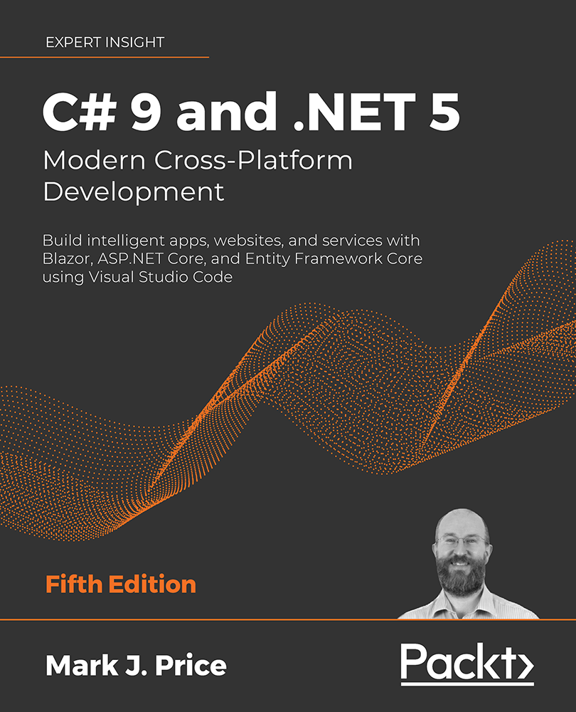 C# 9 and .NET 5 by Packt Publishing
