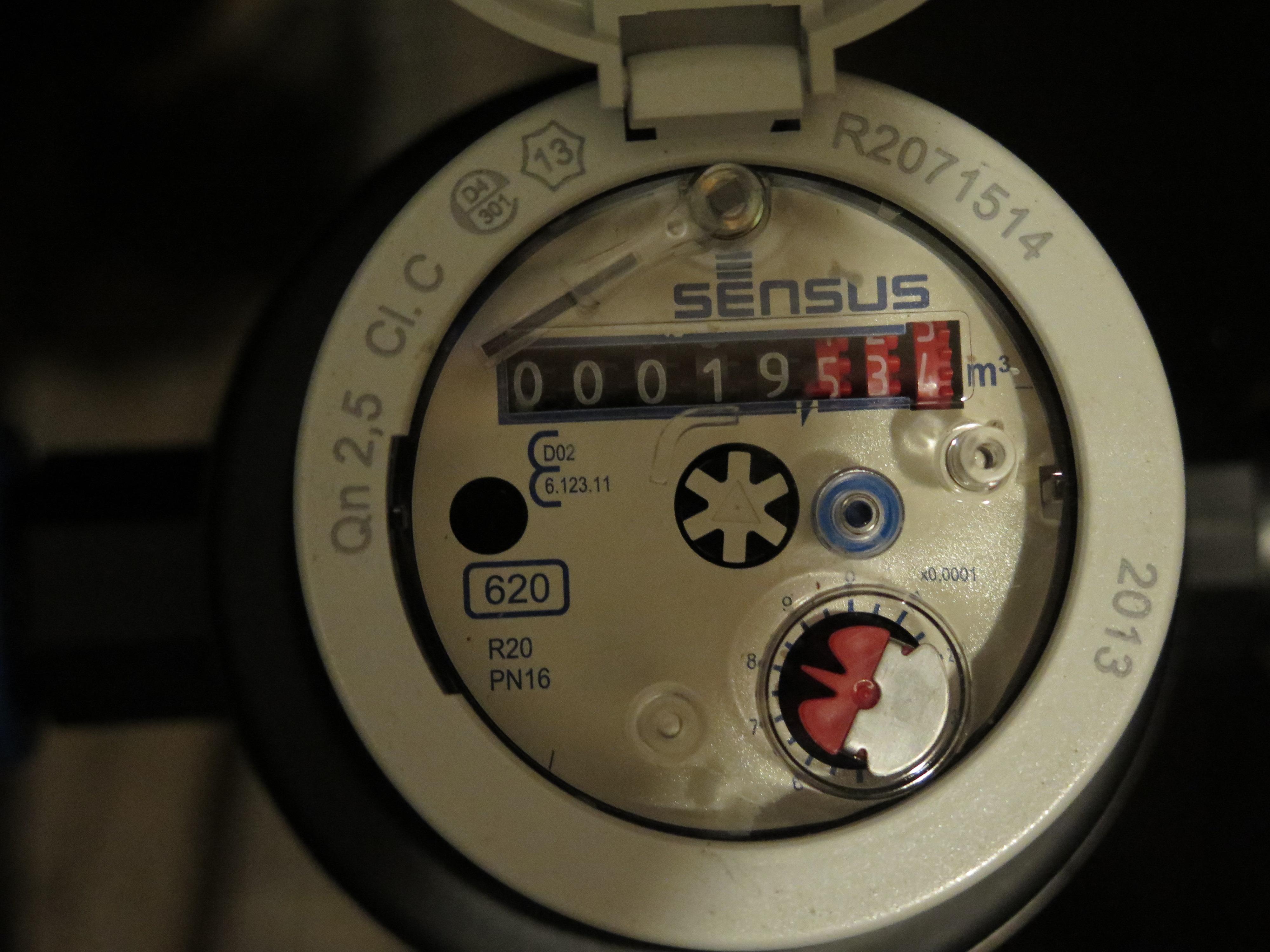 Sensus water meter