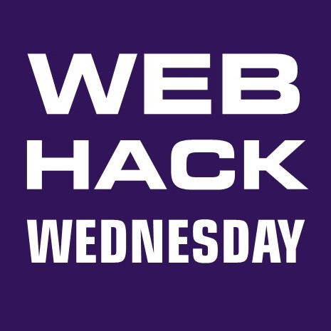Web Hack Wednesday Series 3