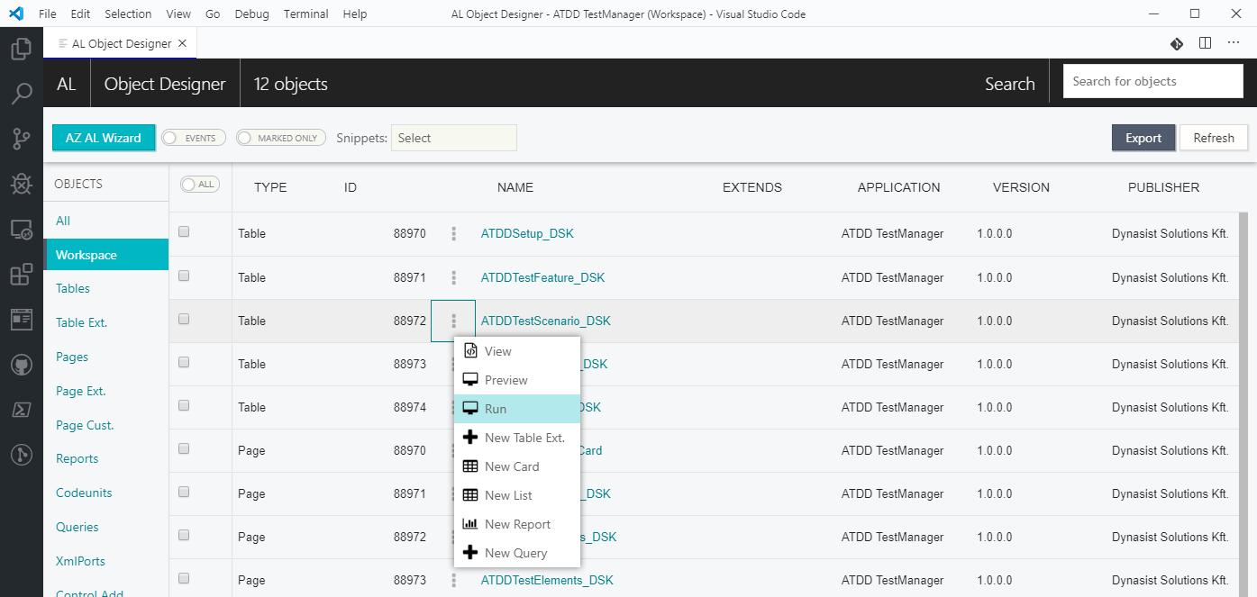 AL Object Designer - Visual Studio Marketplace