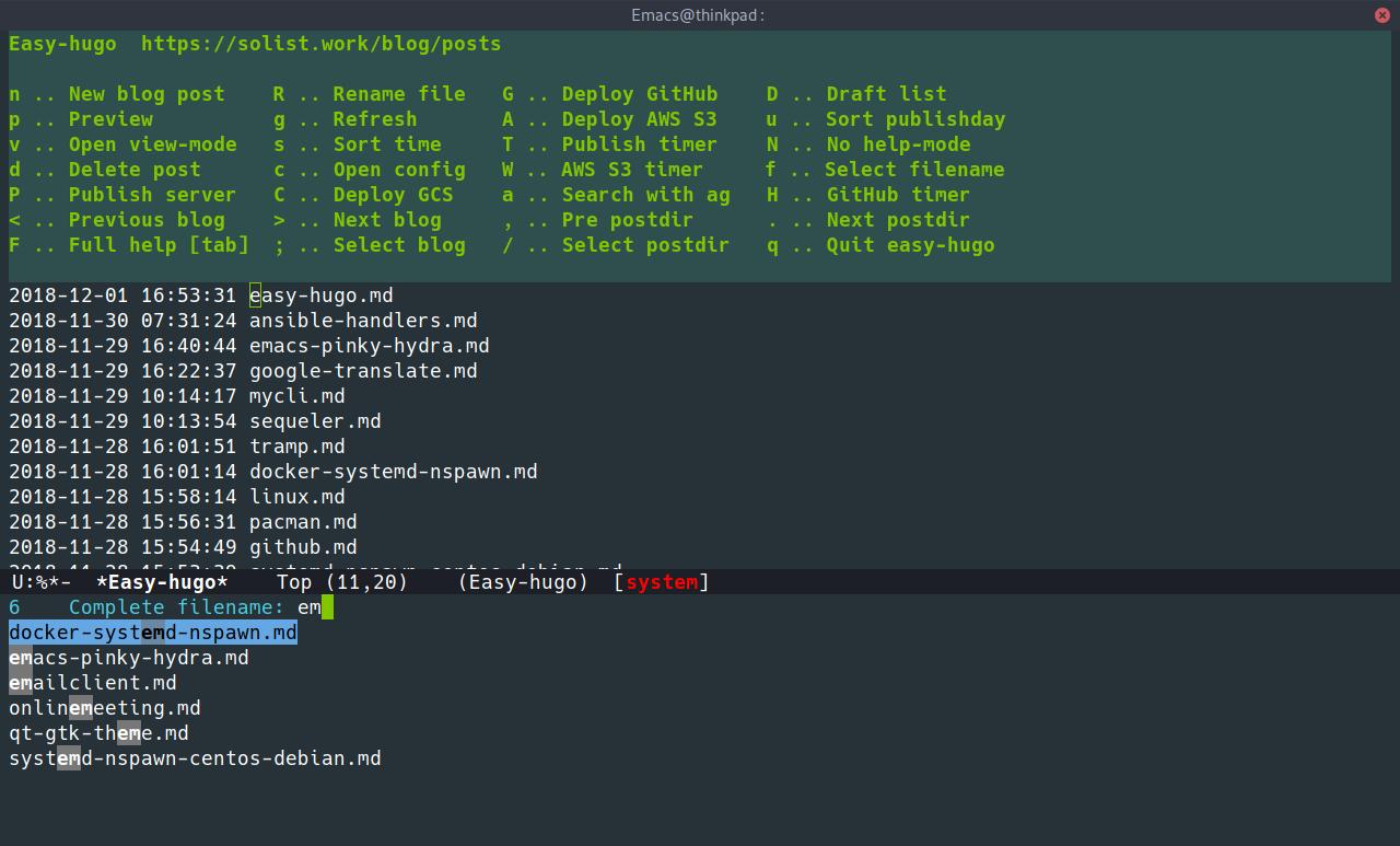 easy-hugo-select-filename