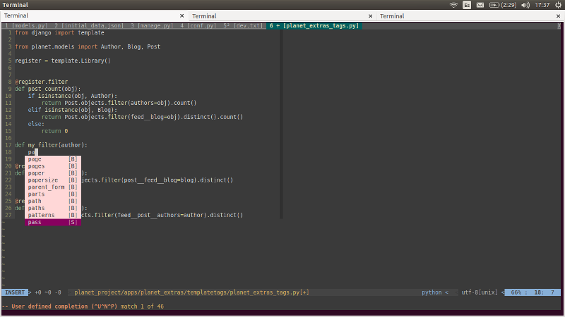 Code Completition