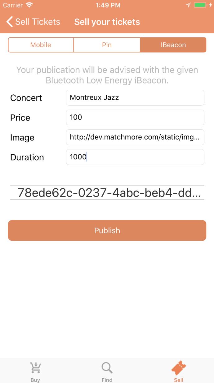 select iBeacon