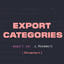 Export Categories's icon