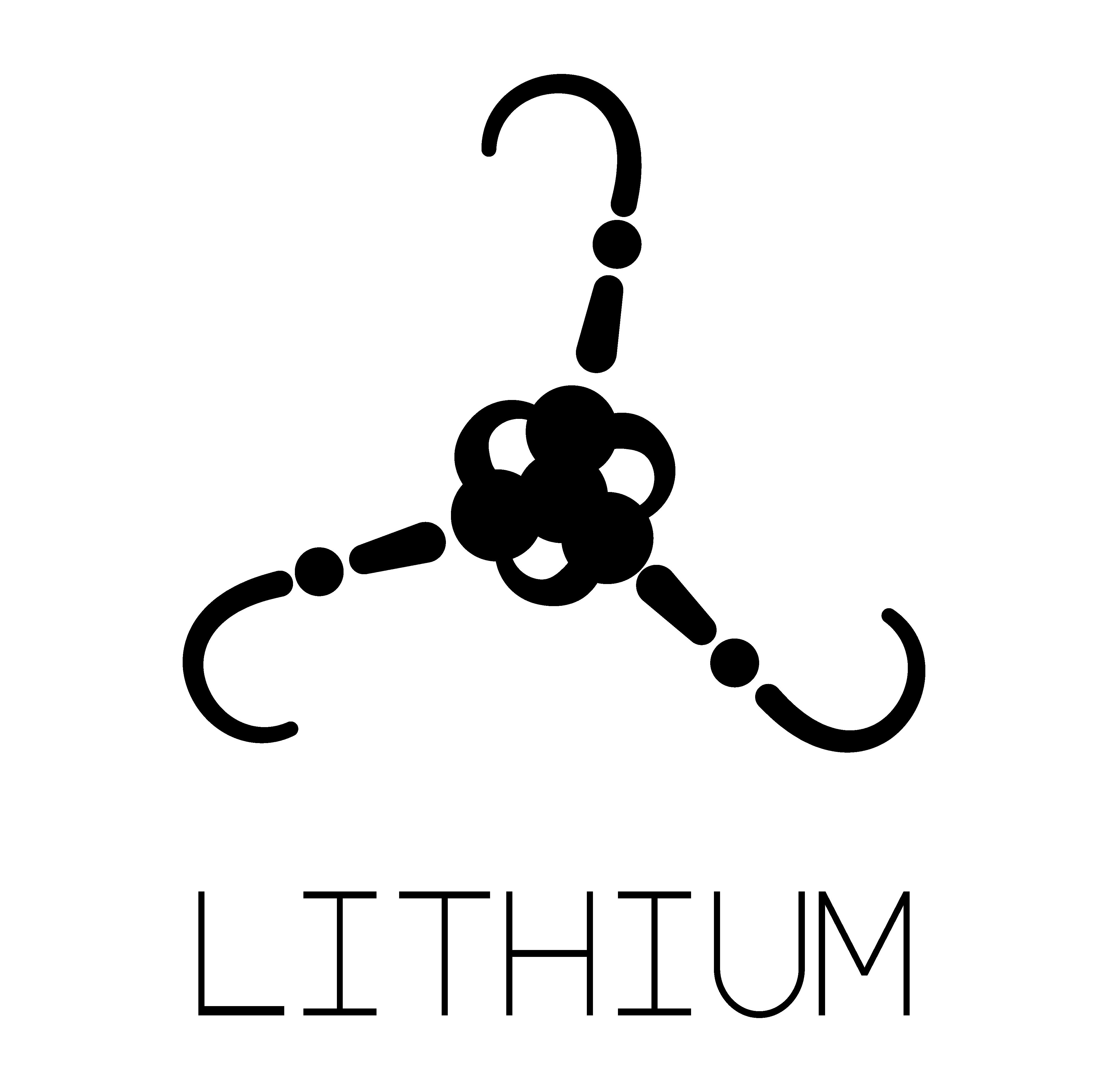 Lithium Logo. Designed by Yvan Darmet