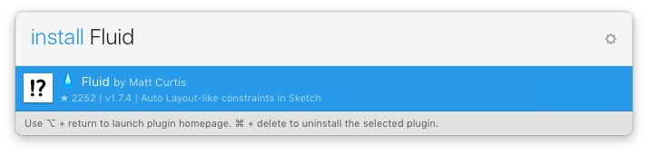 Install with Sketch Runner