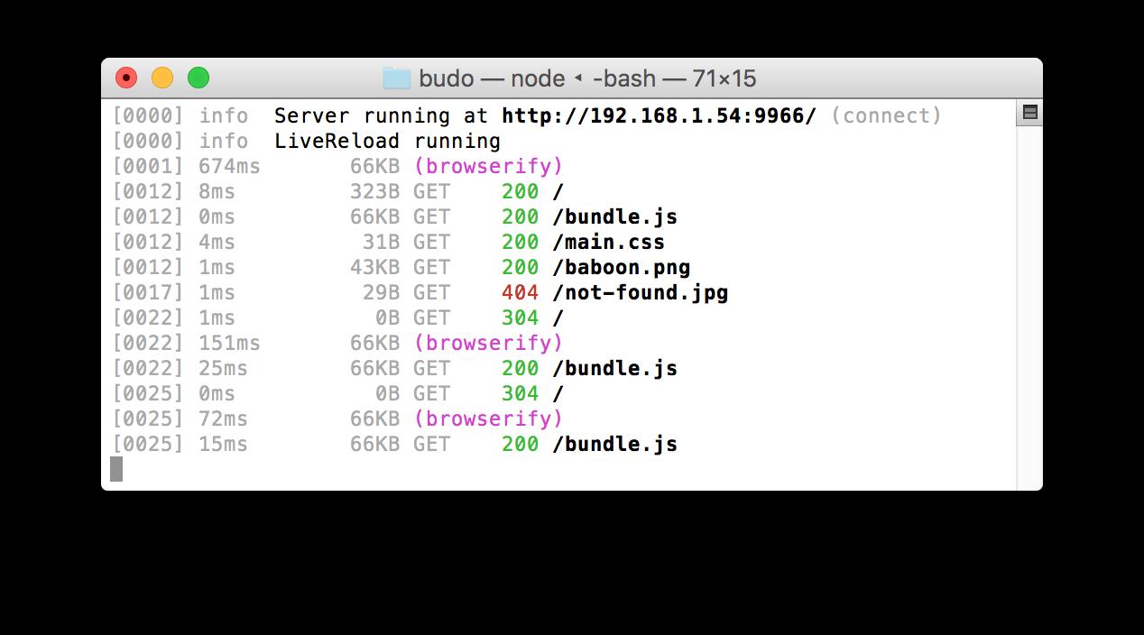 budo/command-line-usage md at master · mattdesl/budo · GitHub