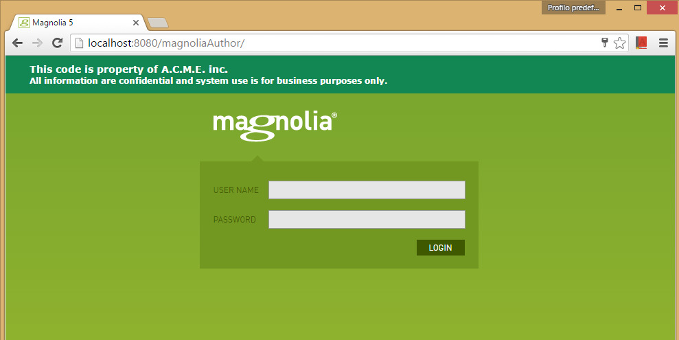 GitHub - matteopelucco/magnolia-module-logininfo: Simple module to