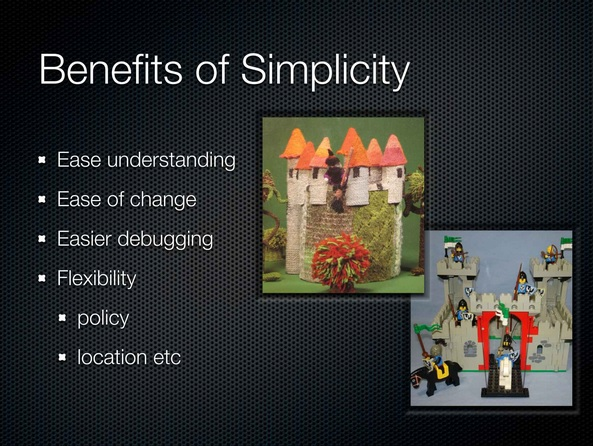 00:21:30 Benefits of Simplicity