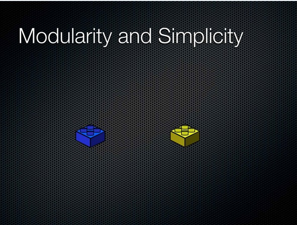 00:33:35 Modularity and Simplicity