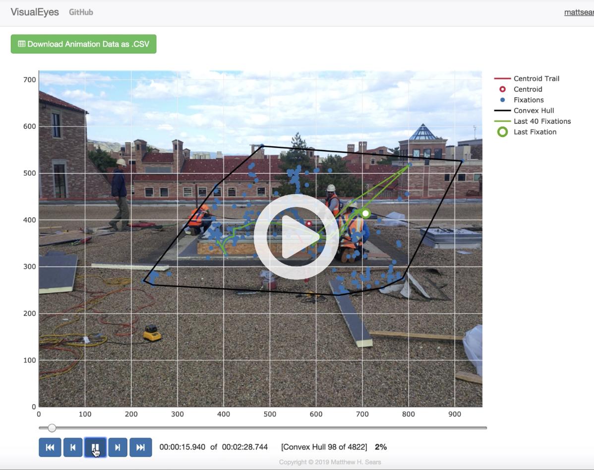VisualEyes - Eye tracking data visualization