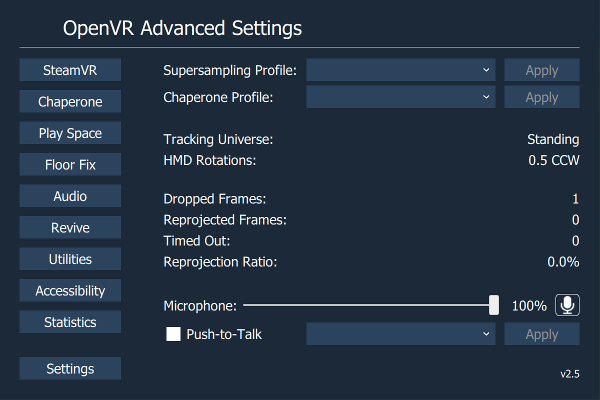 If you're playing WMR using SteamVR I HIGHLY recommend OpenVR