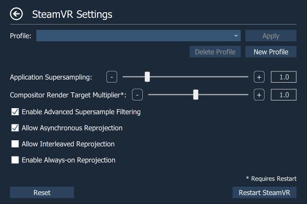 OpenVR-AdvancedSettings by matzman666