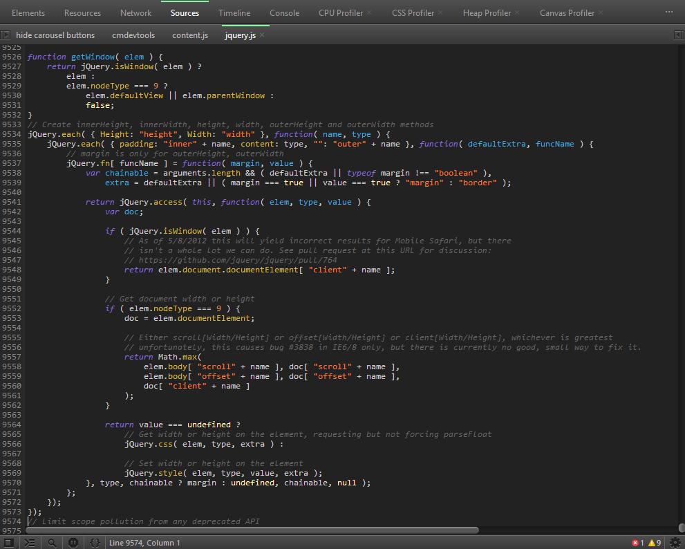 js-highlighting