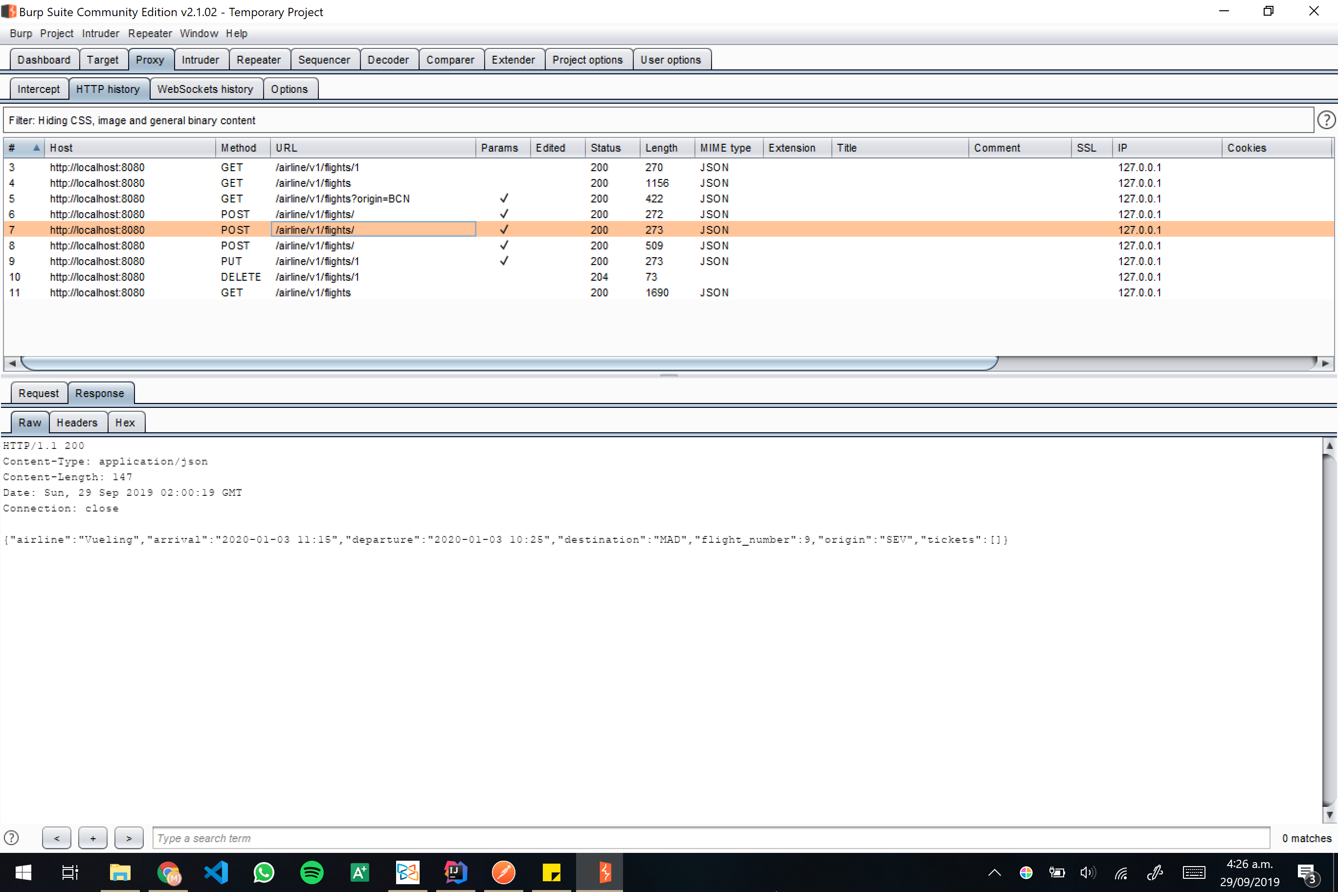 Burp screenshot 14