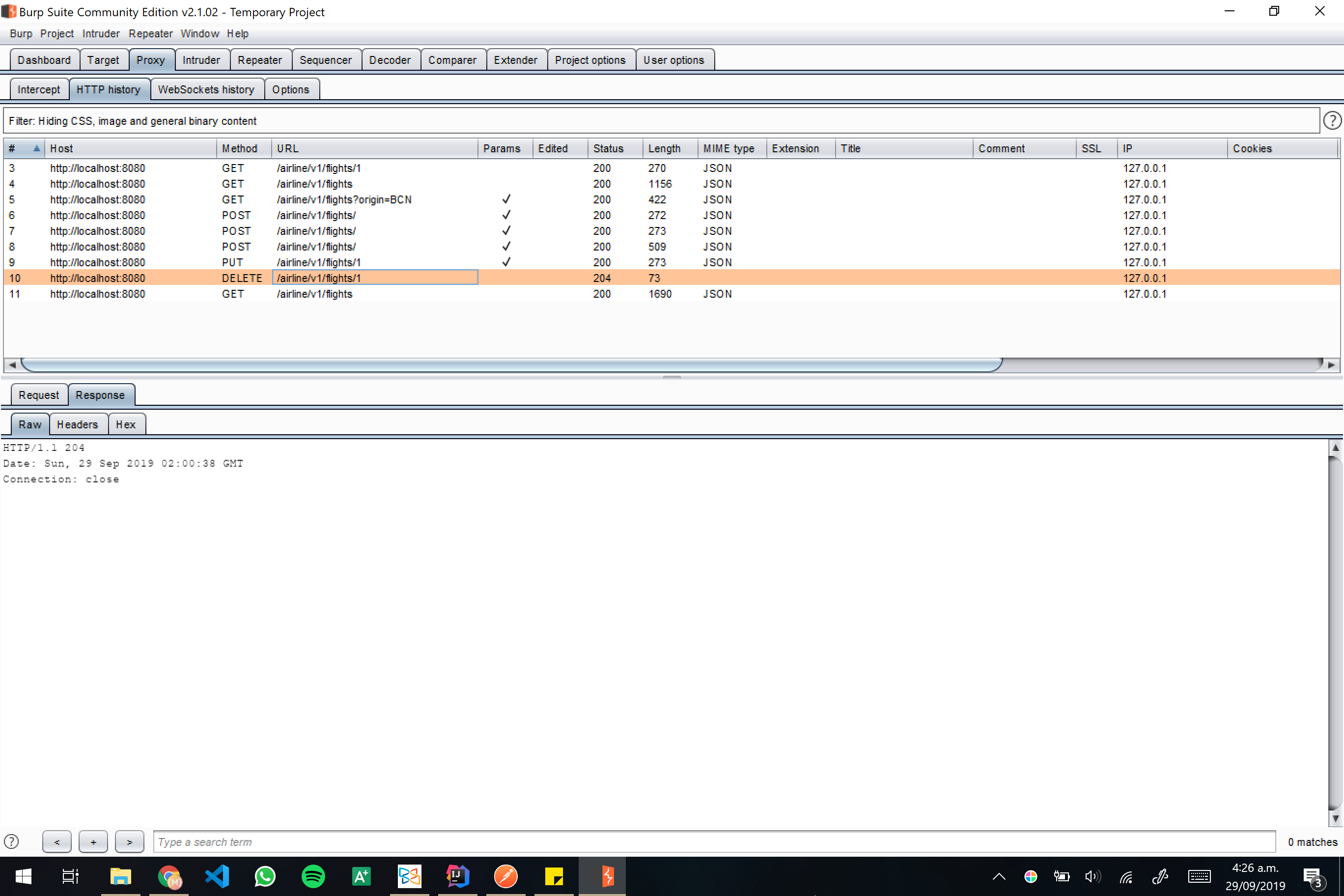 Burp screenshot 20
