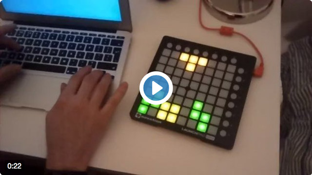 Demo of Tetrispad