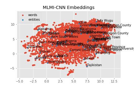 MLMI-CNN Embeddings