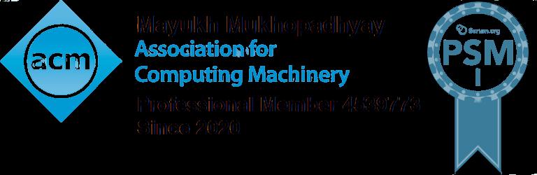 Mayukh Mukhopadhyay Logo