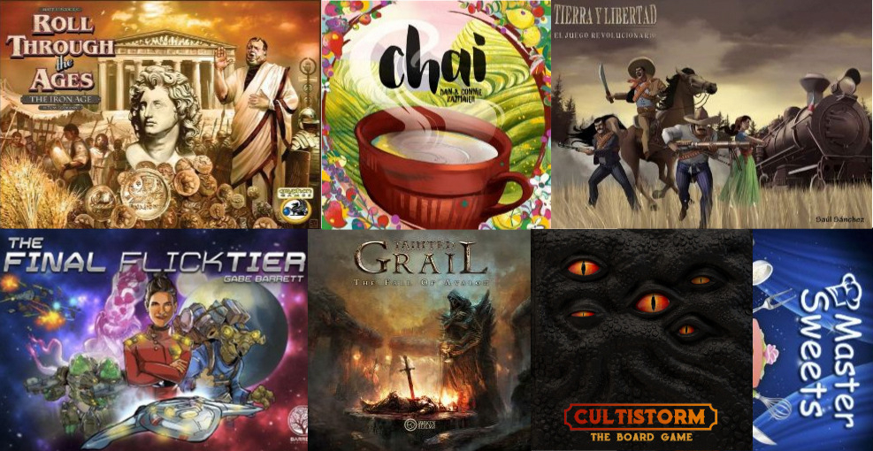 Noticias - Kickstarters 30/11 - 15/12