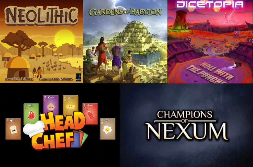 Noticias - Kickstarters 20/01 - 27/01