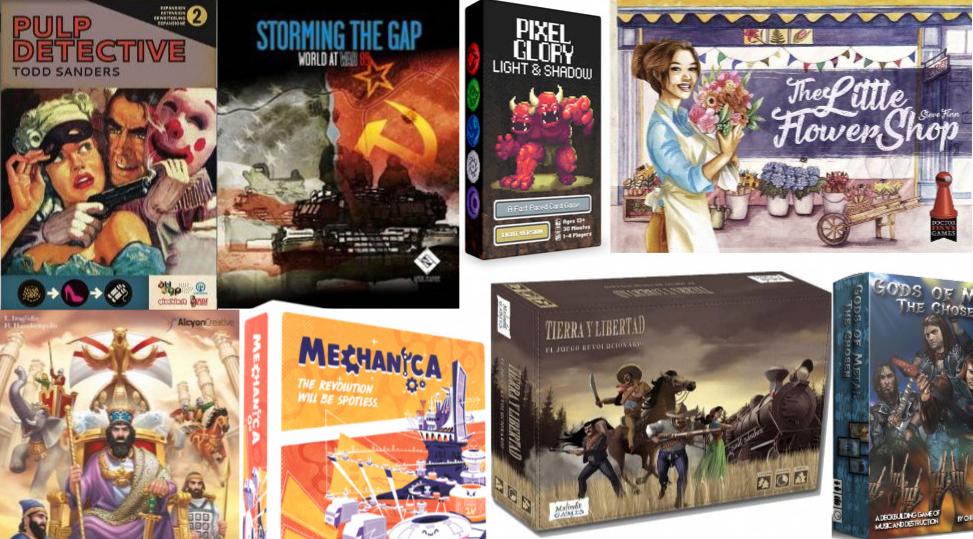 Noticias - Kickstarters 04/02 - 10/02