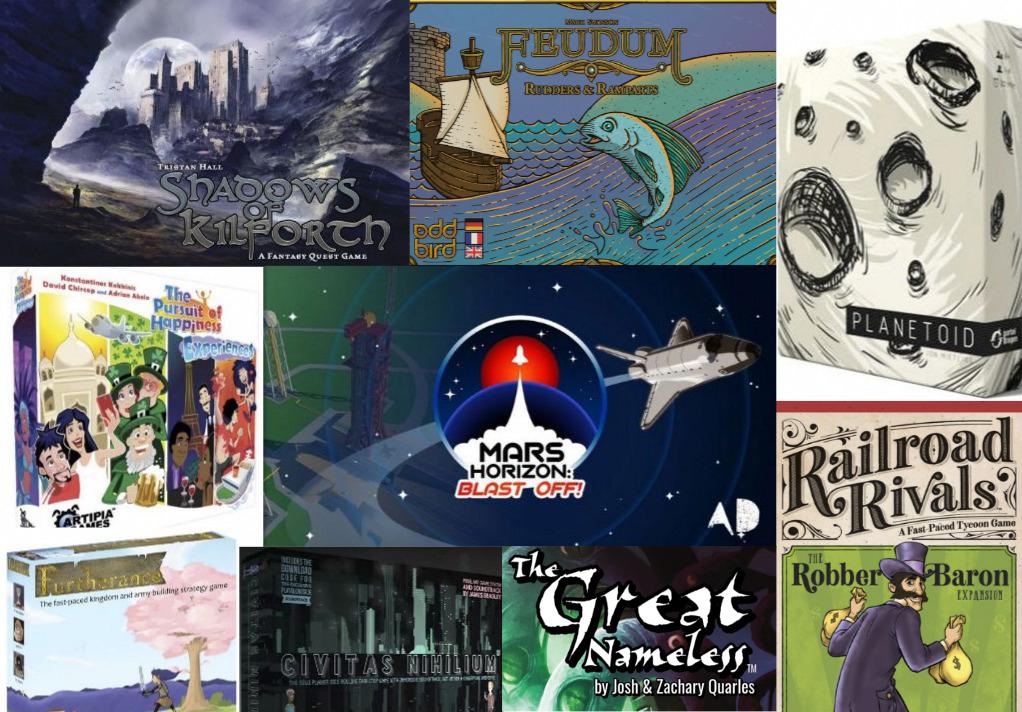Noticias - Kickstarters 25/02 - 03/03