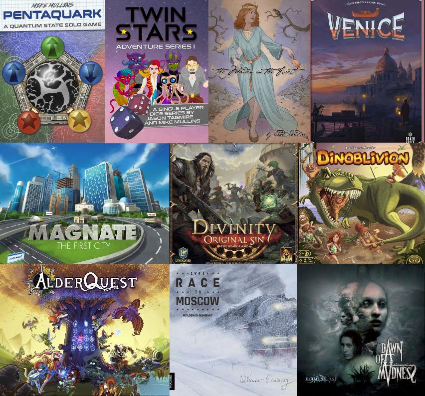 Noticias - Kickstarters 18/11 - 24/11