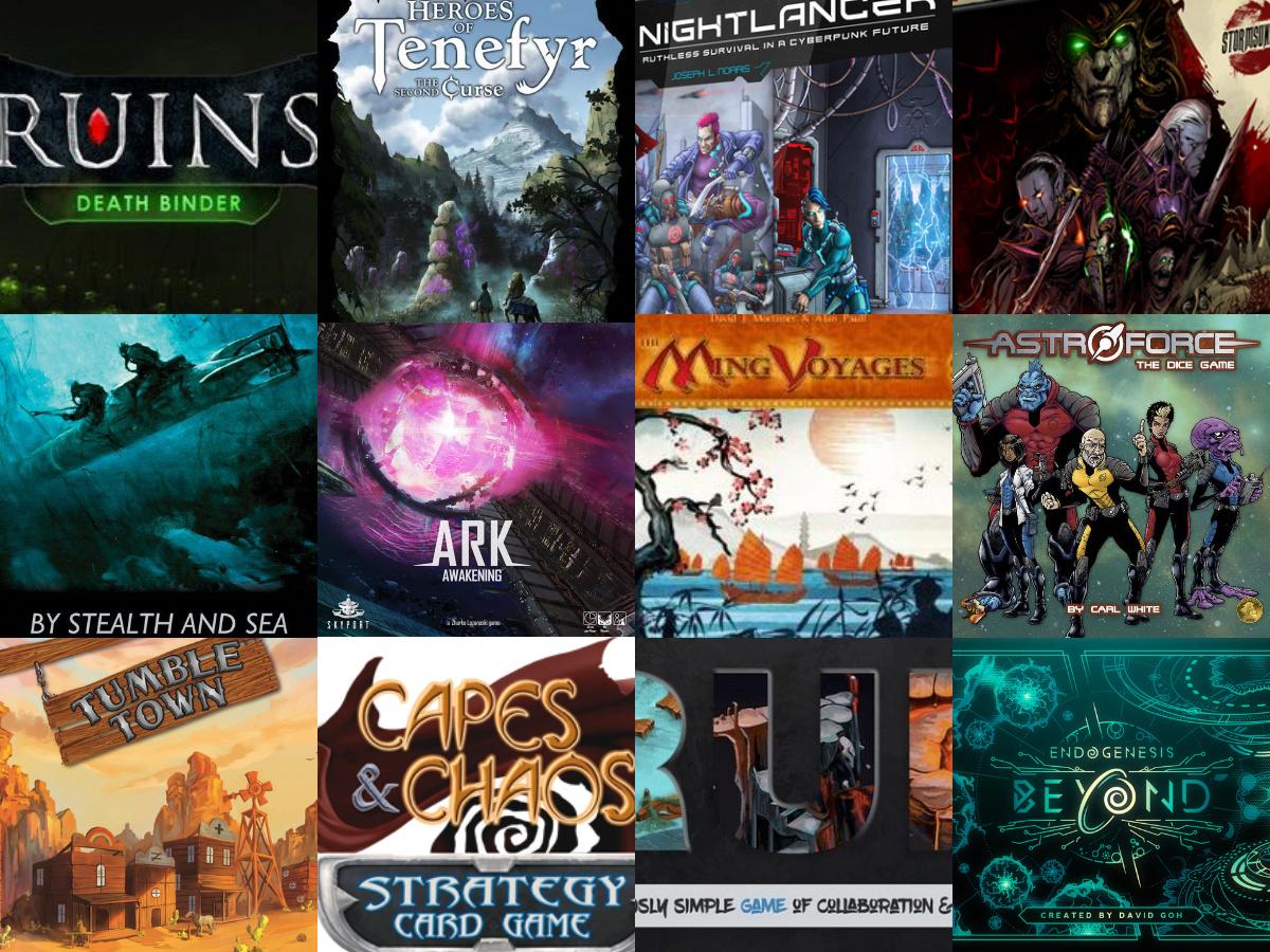 Noticias - Kickstarters 24/02 - 1/03