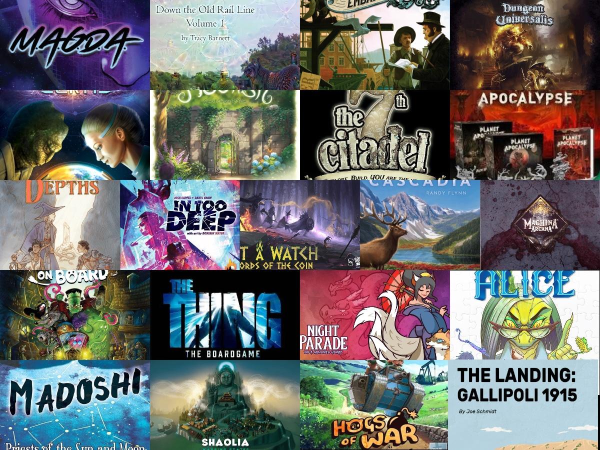 Noticias - Kickstarters 14/09 - 27/09