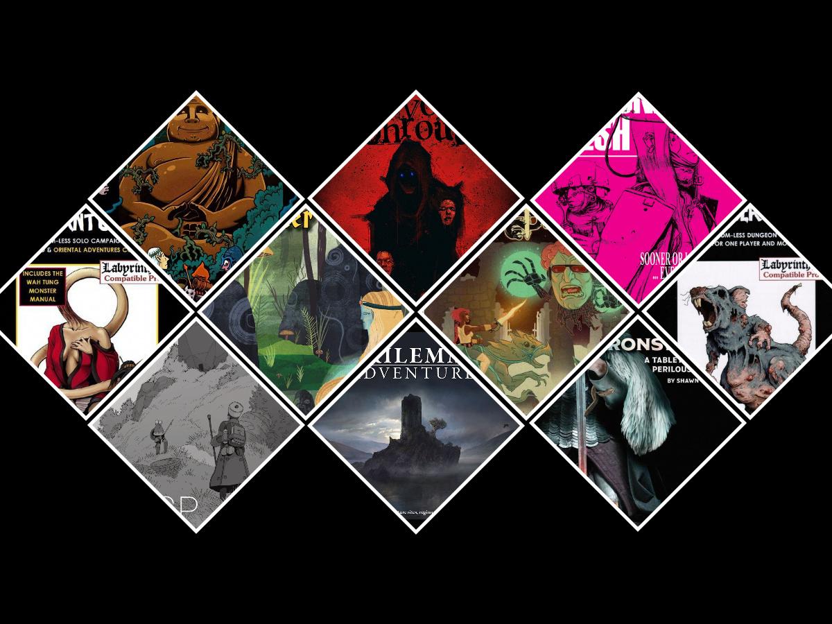 10 juegos de rol en solitario y módulos de aventuras para probar en 2020