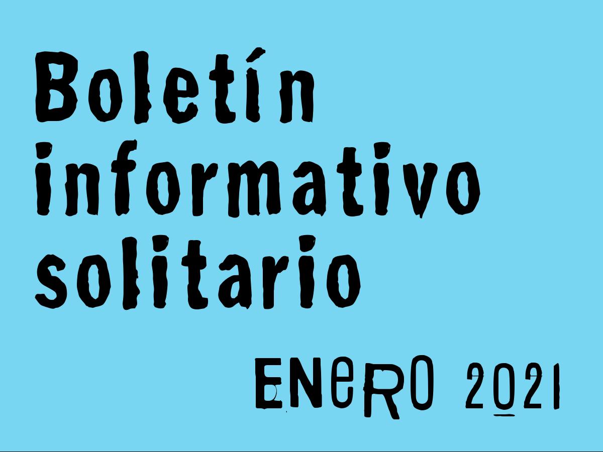 Boletín Informativo Solitario: enero 2021