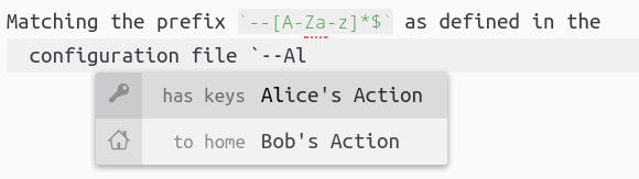 Bob-and-Alice example.