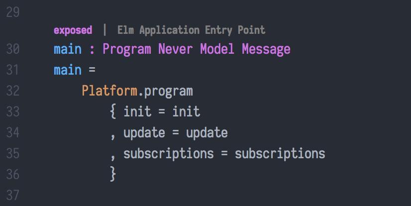 Program Function Meta Tag
