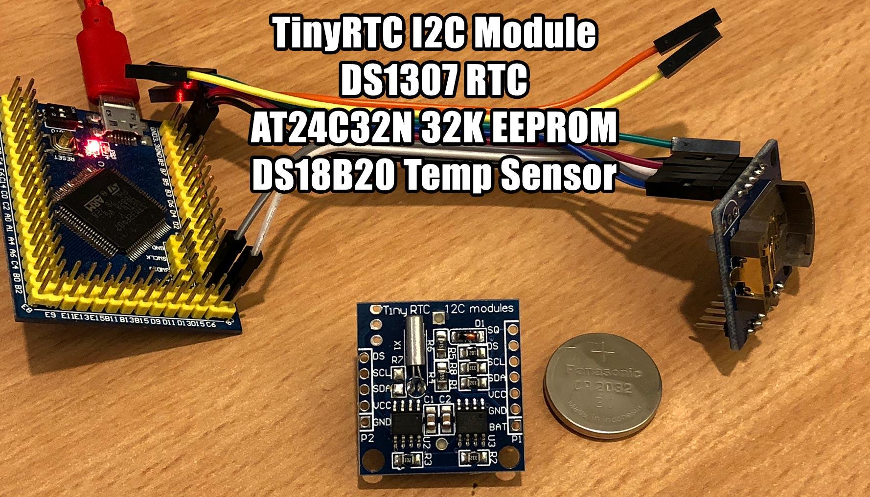 TinyRTC I2C Module DS1307 + AT24C32N - MicroPython Forum