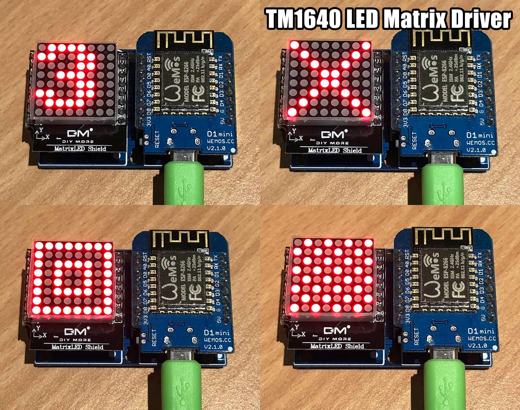 Tm1640 8x8 Led Matrix Micropython Forum Array Driver Circuit