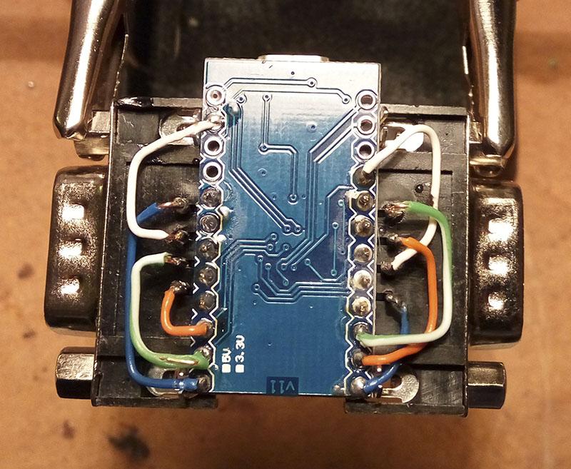 Arduino usb hid retrojoystickadapter megadrive at master