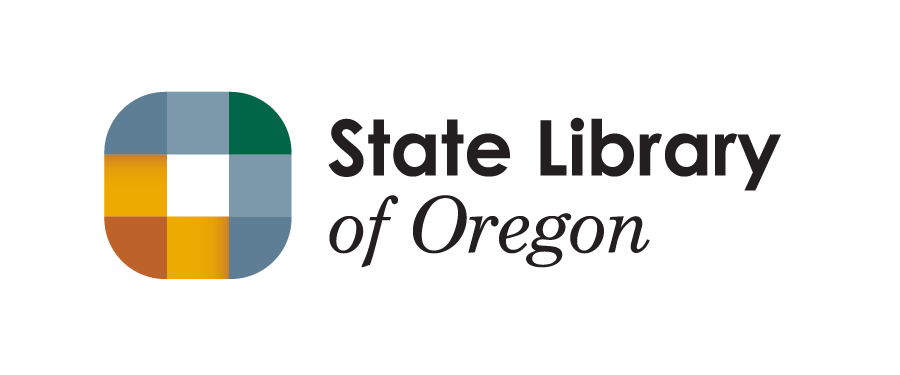 The Oregon State Library logo