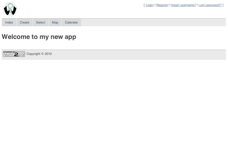 Web2py Example Appliances